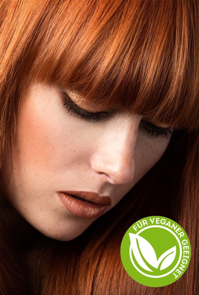 Frau mit glänzendem Haar - Imagebild